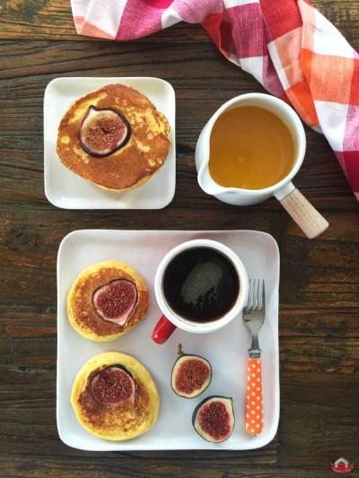 İncirli ve Taze Lorlu Pancake