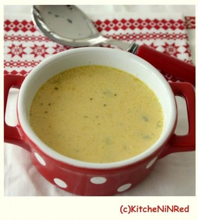 Sebzeli, Kremalı Kuşkonmaz (Asparagus) Çorbası